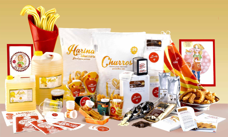 Mi Churreria products
